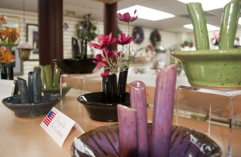 Handmade Baskets In Pa : Myrna reiss pottery artisan marketplace usa handmade